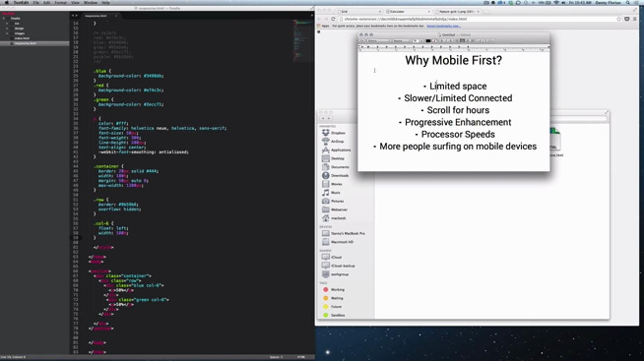 Responsive Web Design: Mobile First Approach with HTML5 & CSS3