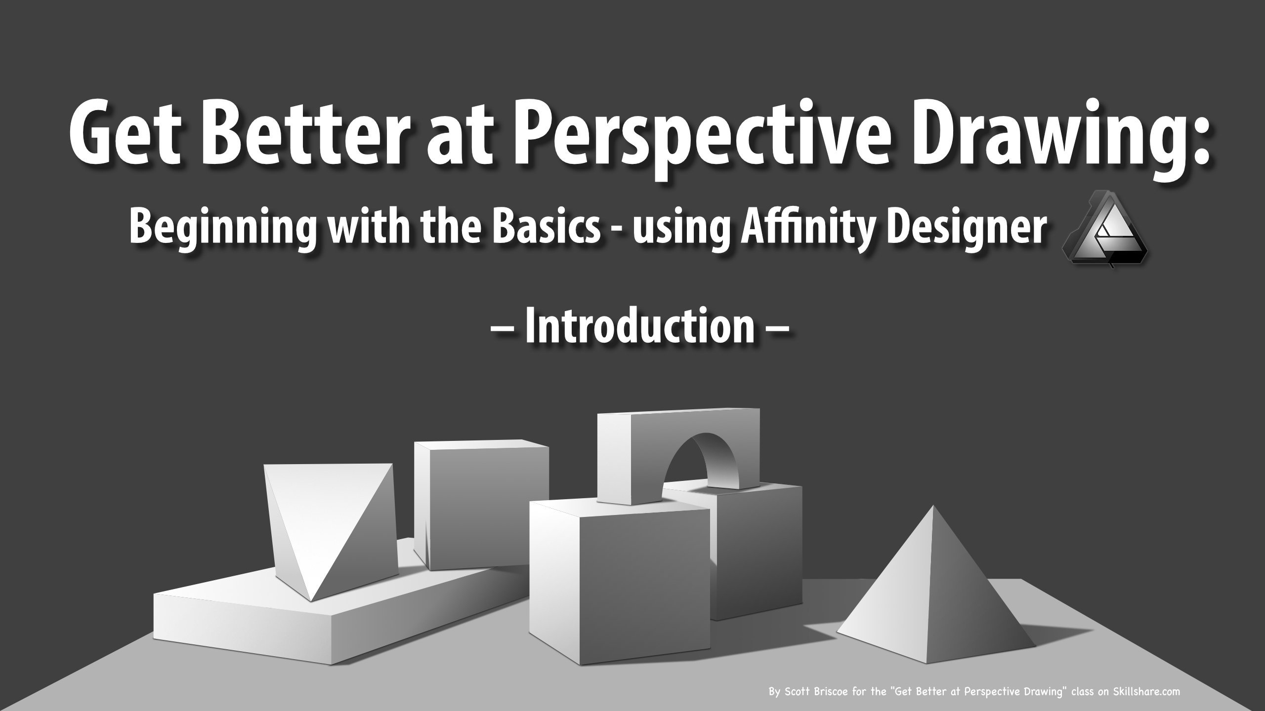 Get Better at Perspective Drawing: Beginning with the Basics - using Affinity Designer