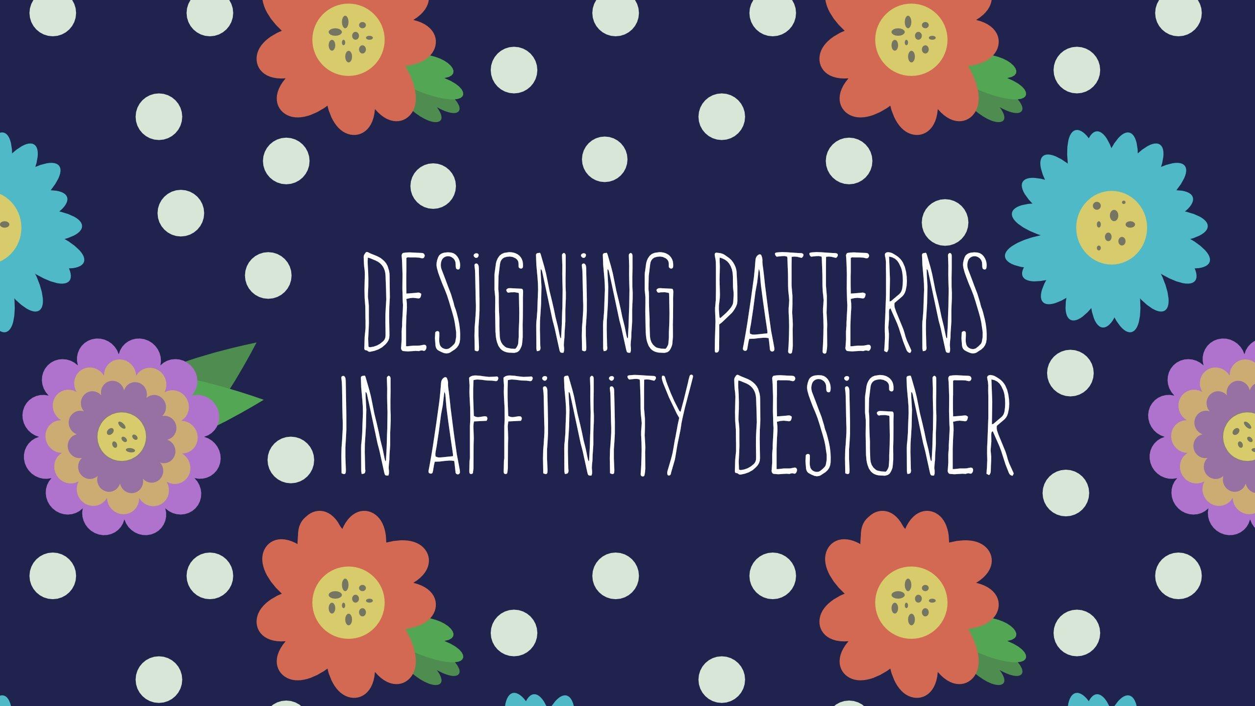 Creating Patterns In Affinity Designer