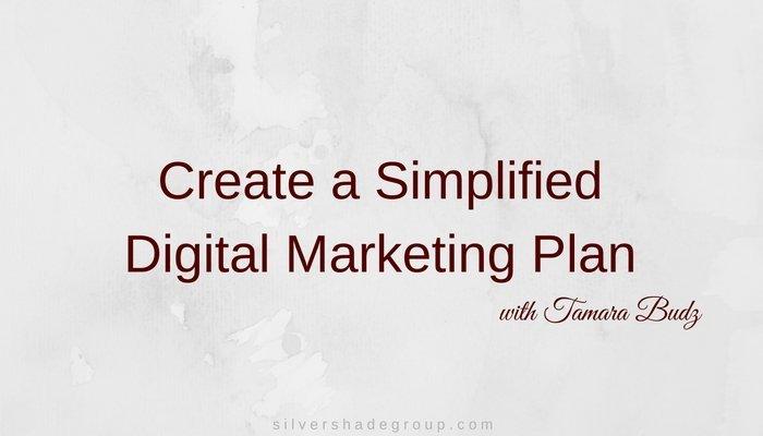 Create a Simple Digital Marketing Plan