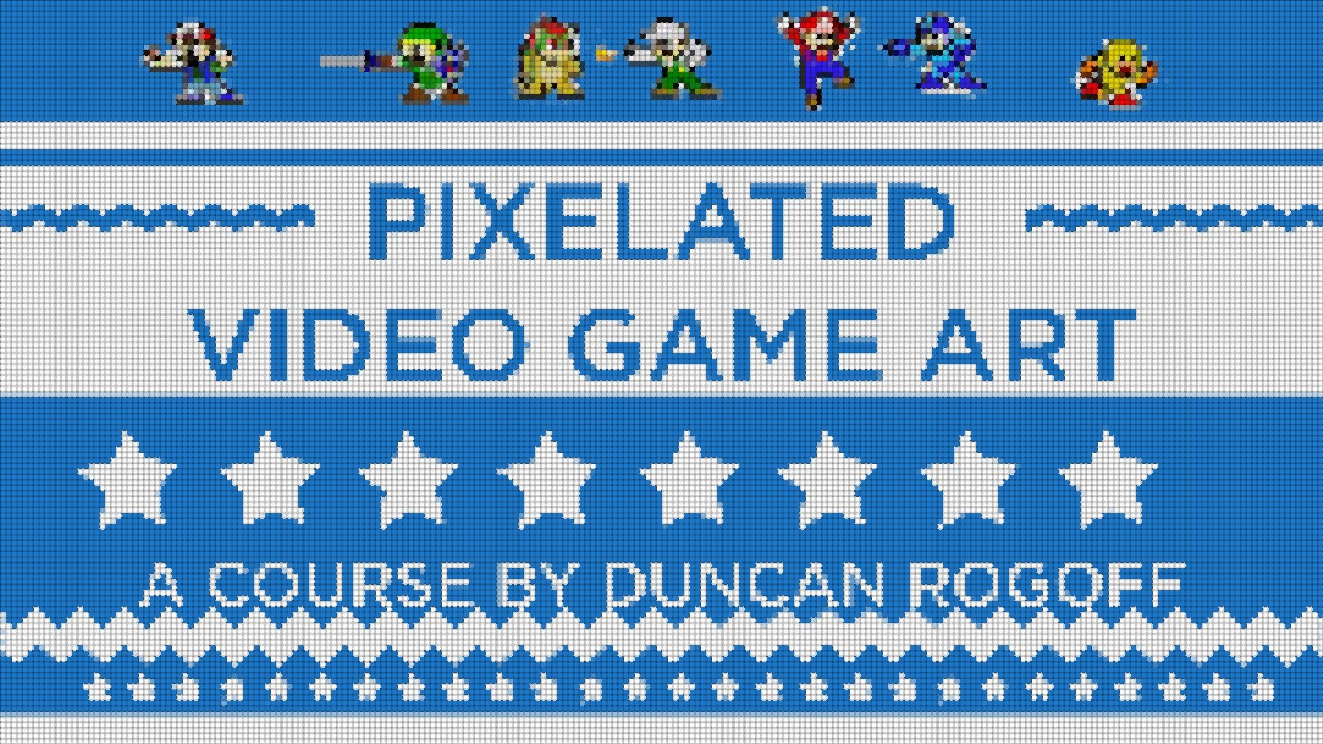 Adobe After Effects: A Step-By-Step Guide to Pixelated Video Game Art