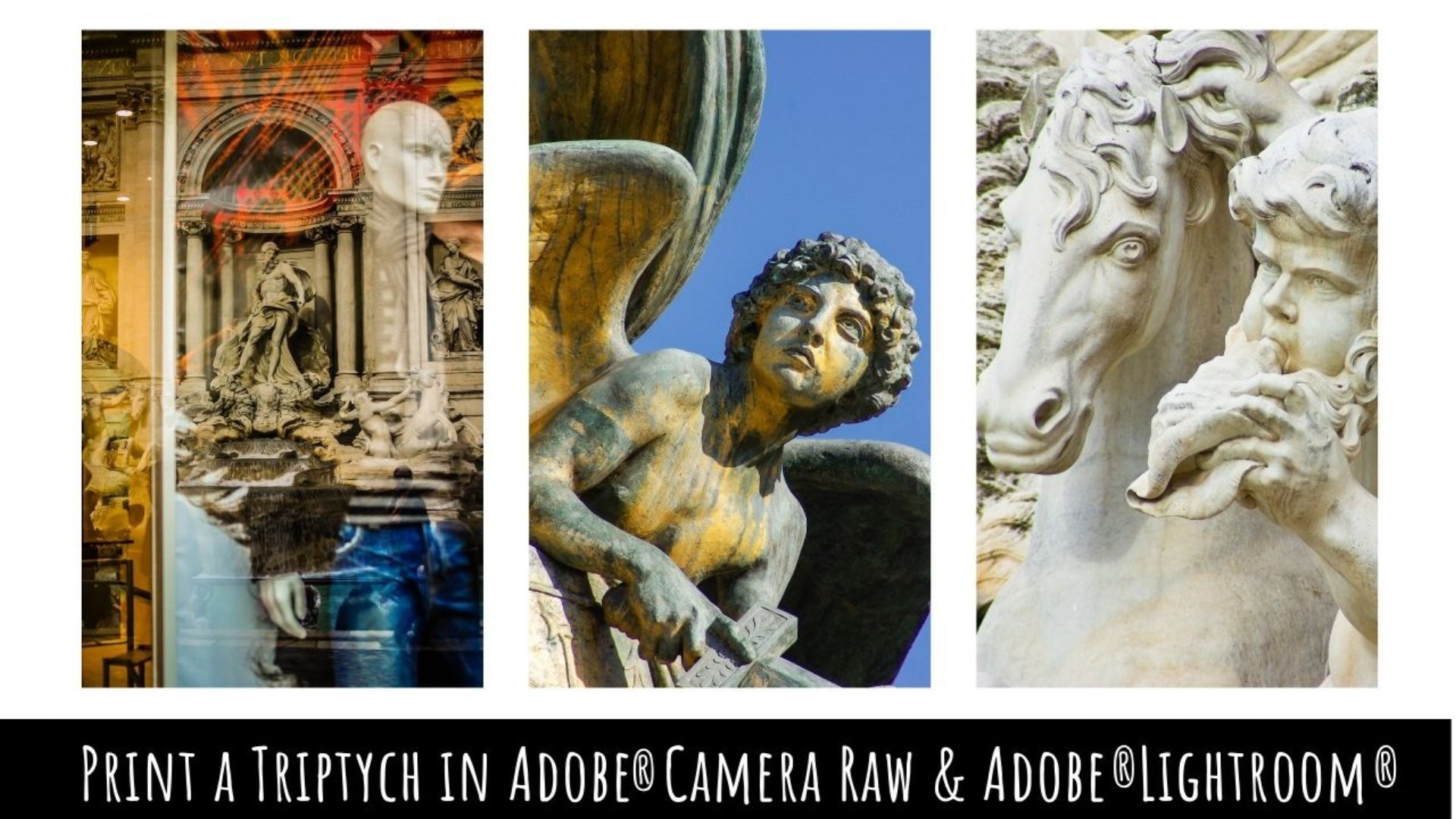 Mastering Printing - Create a Triptych in Adobe Lightroom & ACR - A Graphic Design for Lunch™ Class