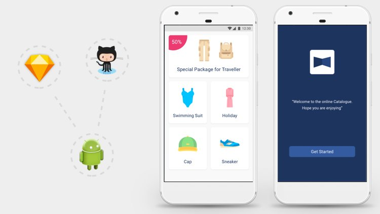 Fashion App: From Sketch to Android Studio