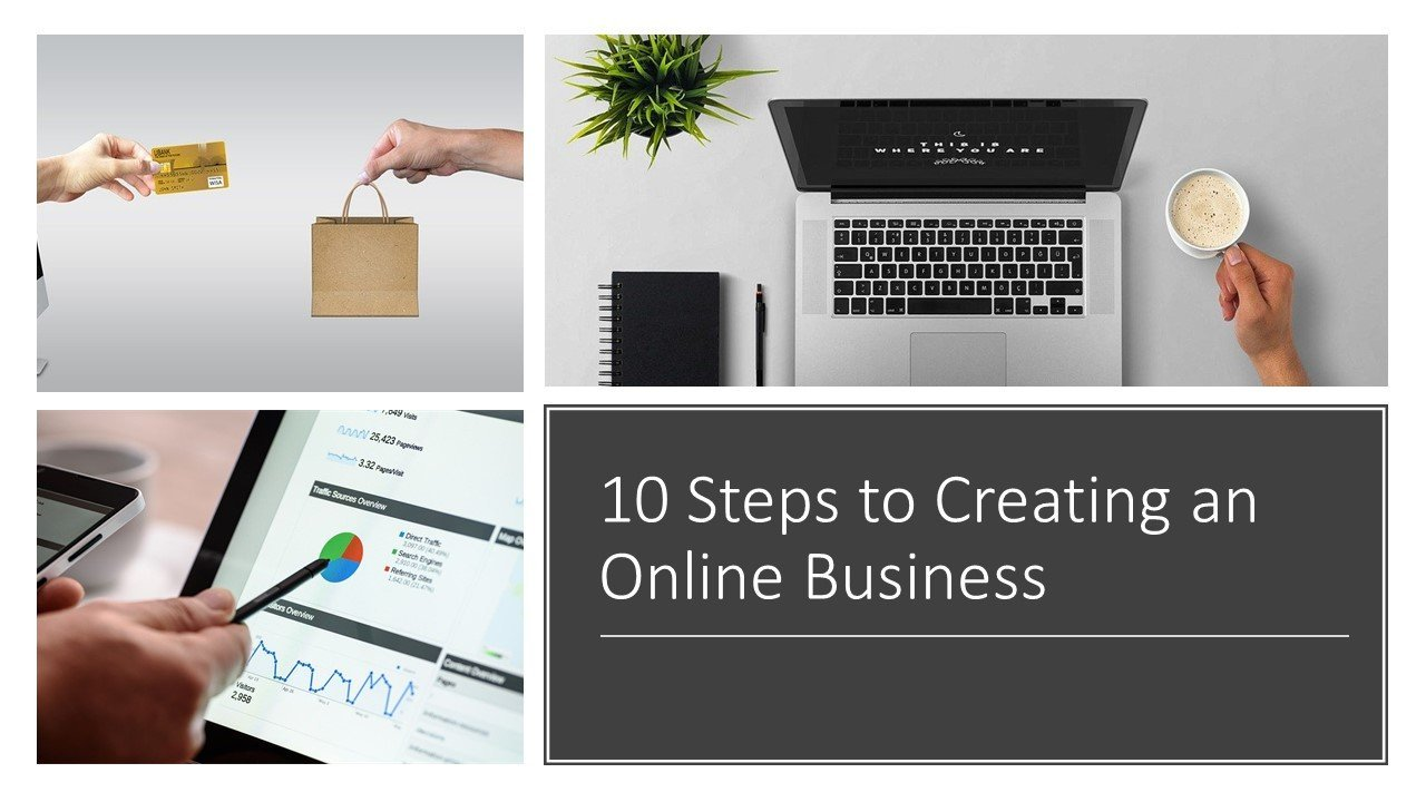 10  Steps to Creating an Online Business
