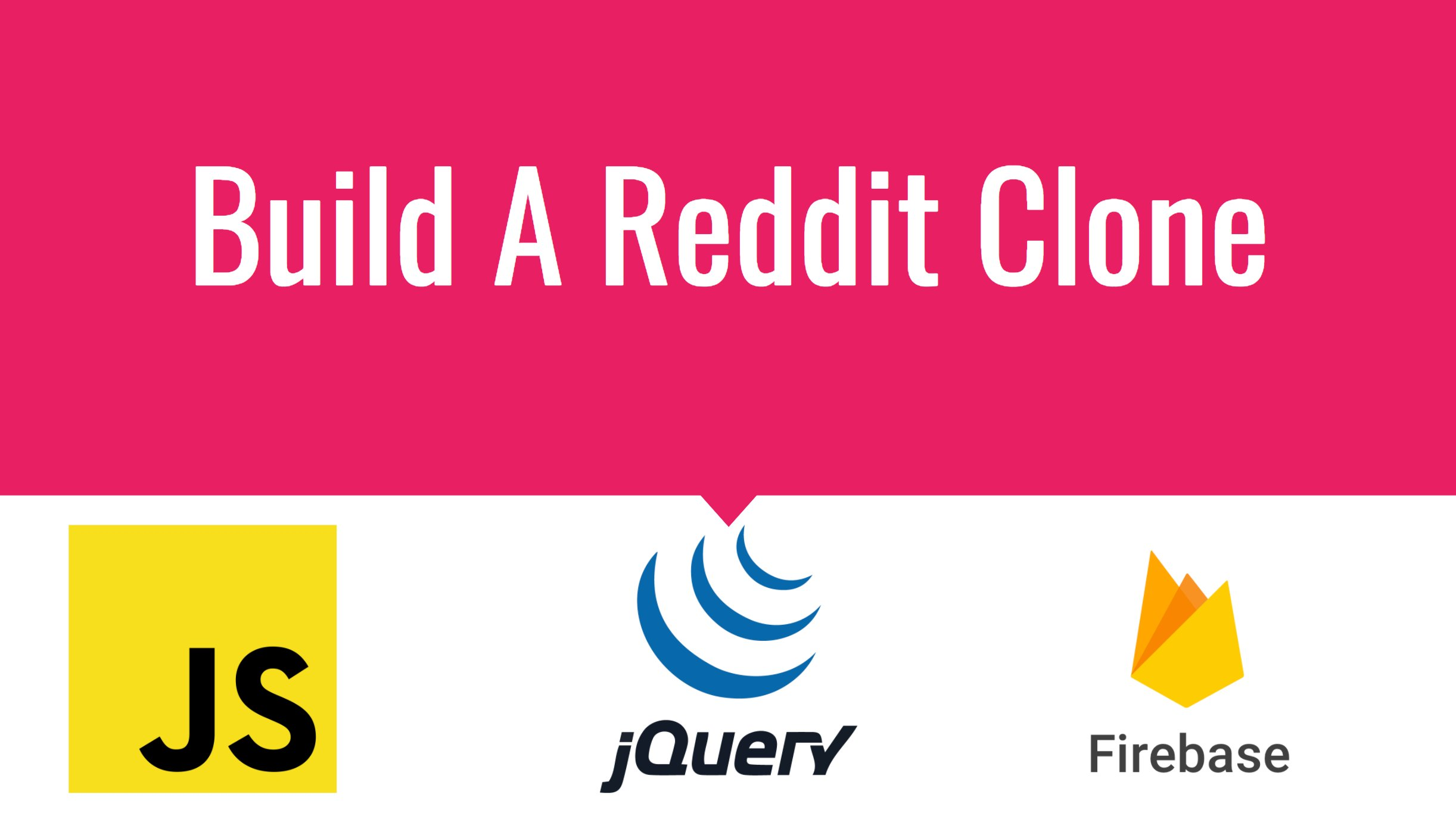 Build a Reddit Clone with jQuery and Firebase