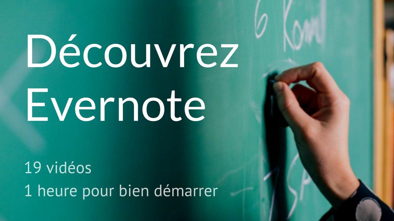 Découvrez Evernote - gérez vos notes et partagez le savoir avec les autres collaborateurs