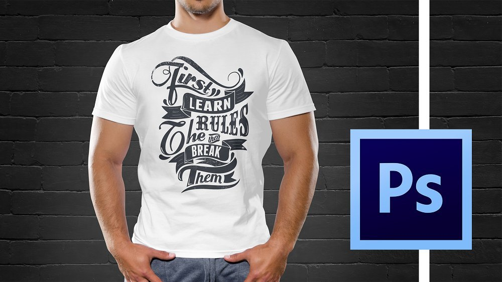 Bestselling T-shirt Design Masterclass With Adobe Photoshop | Merch By Amazon, Teespring