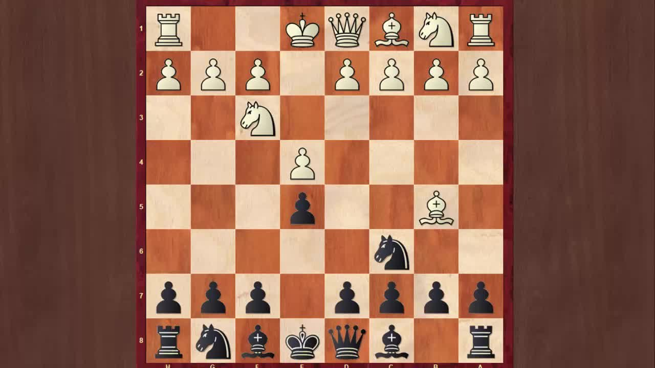 Chess Openings: Dominate With the Schliemann Gambit