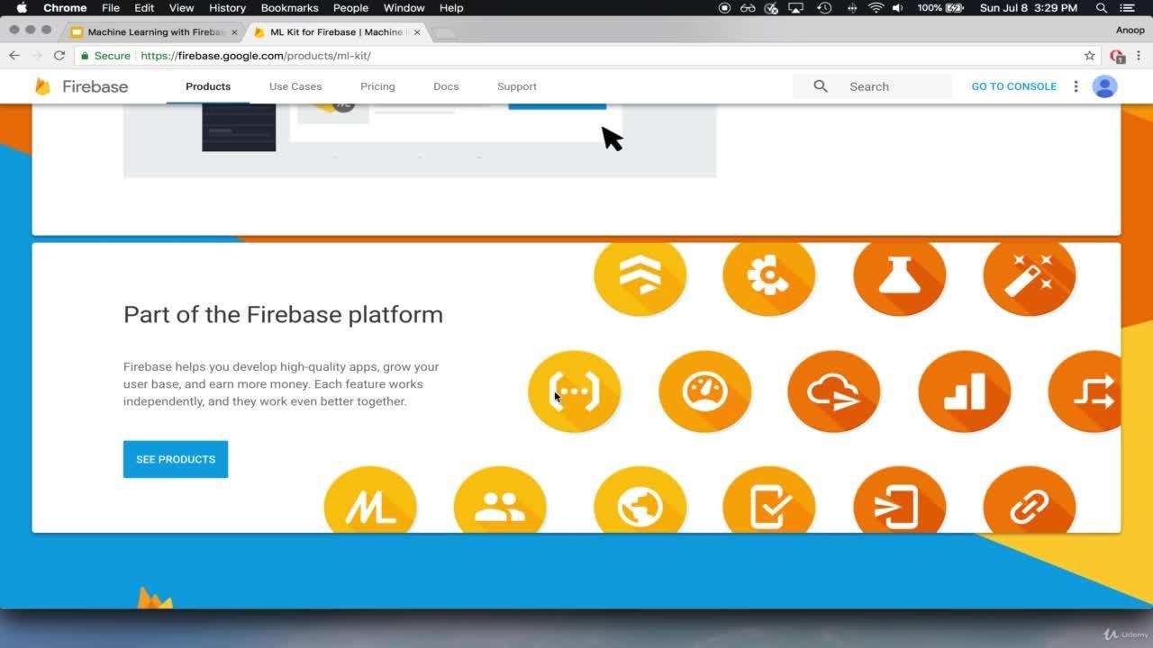 Machine Learning with Firebase ML Kit - Swift & iOS