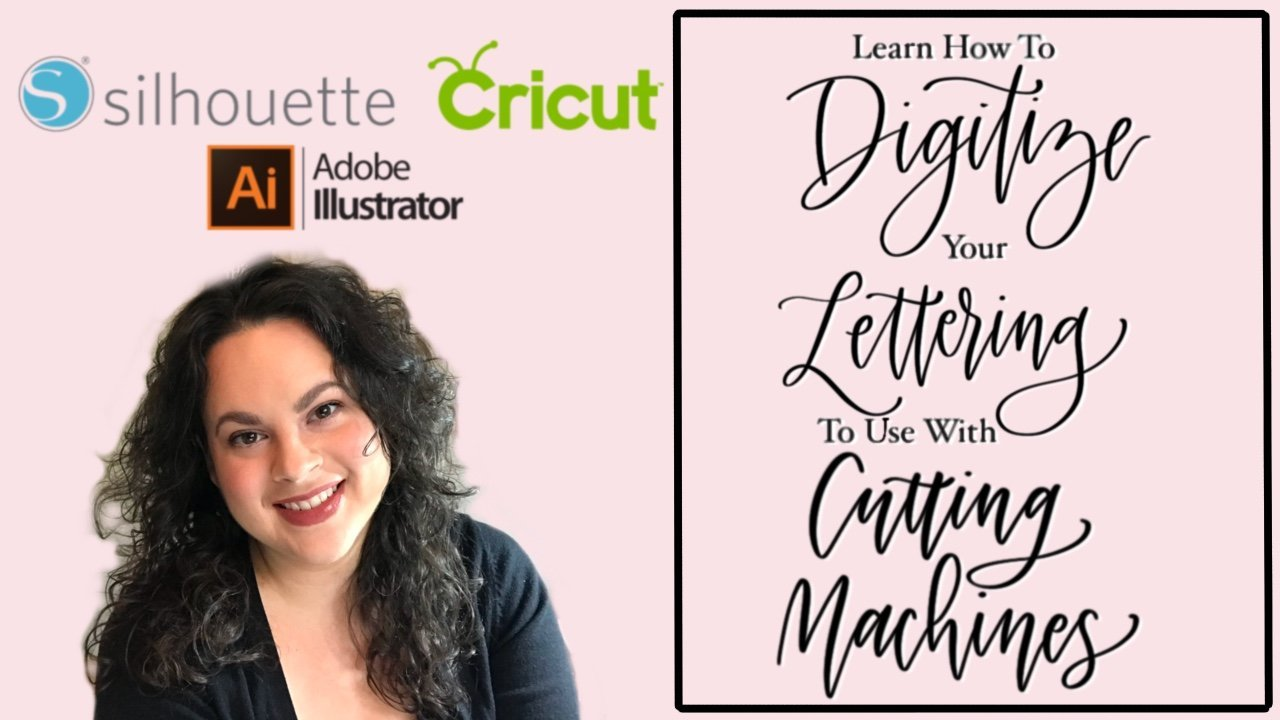 Digitize Your Lettering for Cutting Machines (Cricut & Silhouette!)