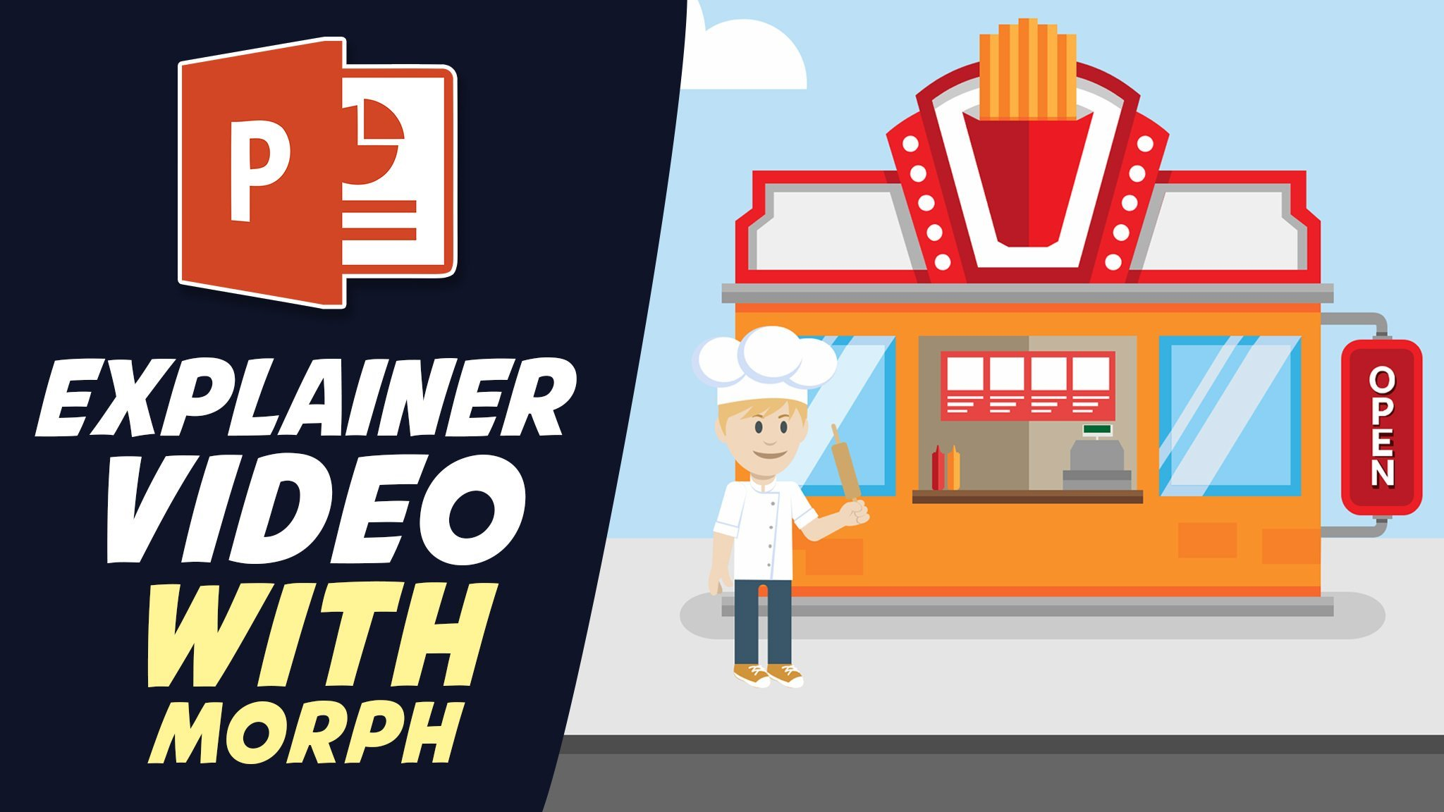 Explainer Videos in PowerPoint - Create an Explainer video with MORPH