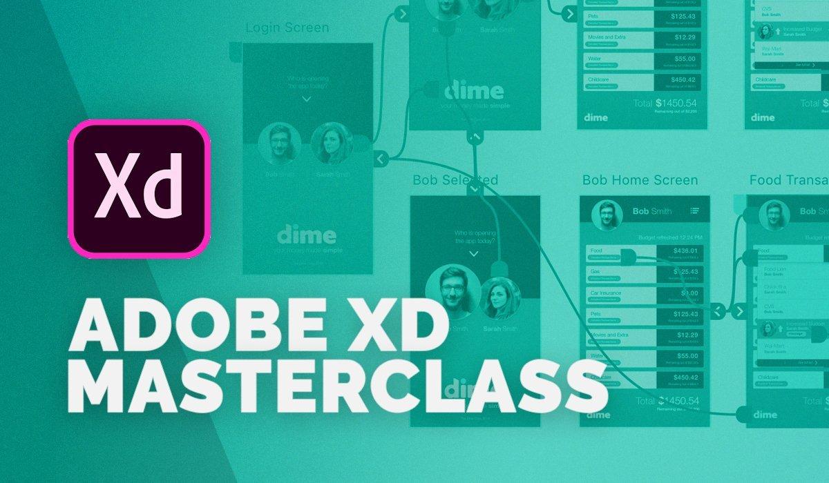 Adobe Xd Masterclass: Design a Mobile App & Website Wireframe