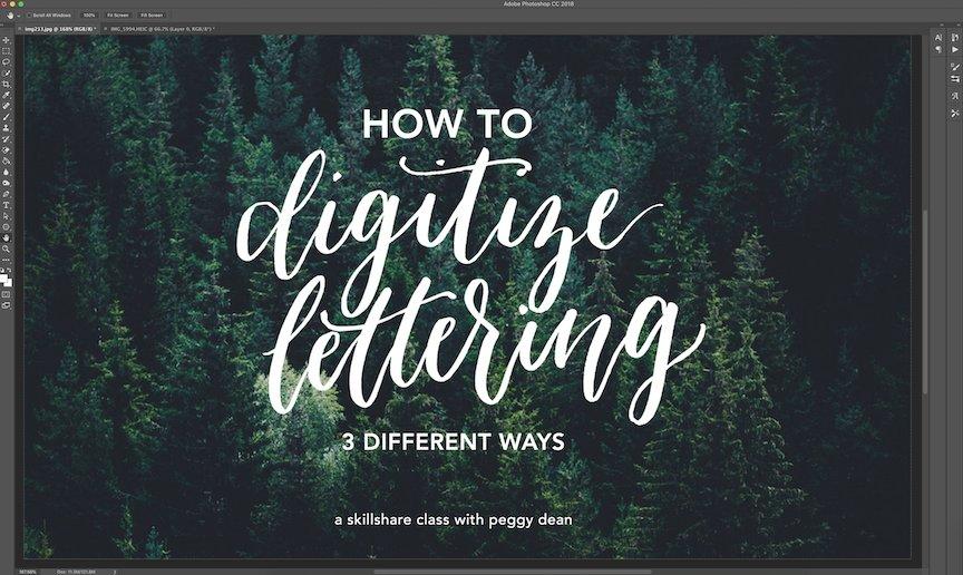 Digitize Your Lettering: 3 Easy Methods