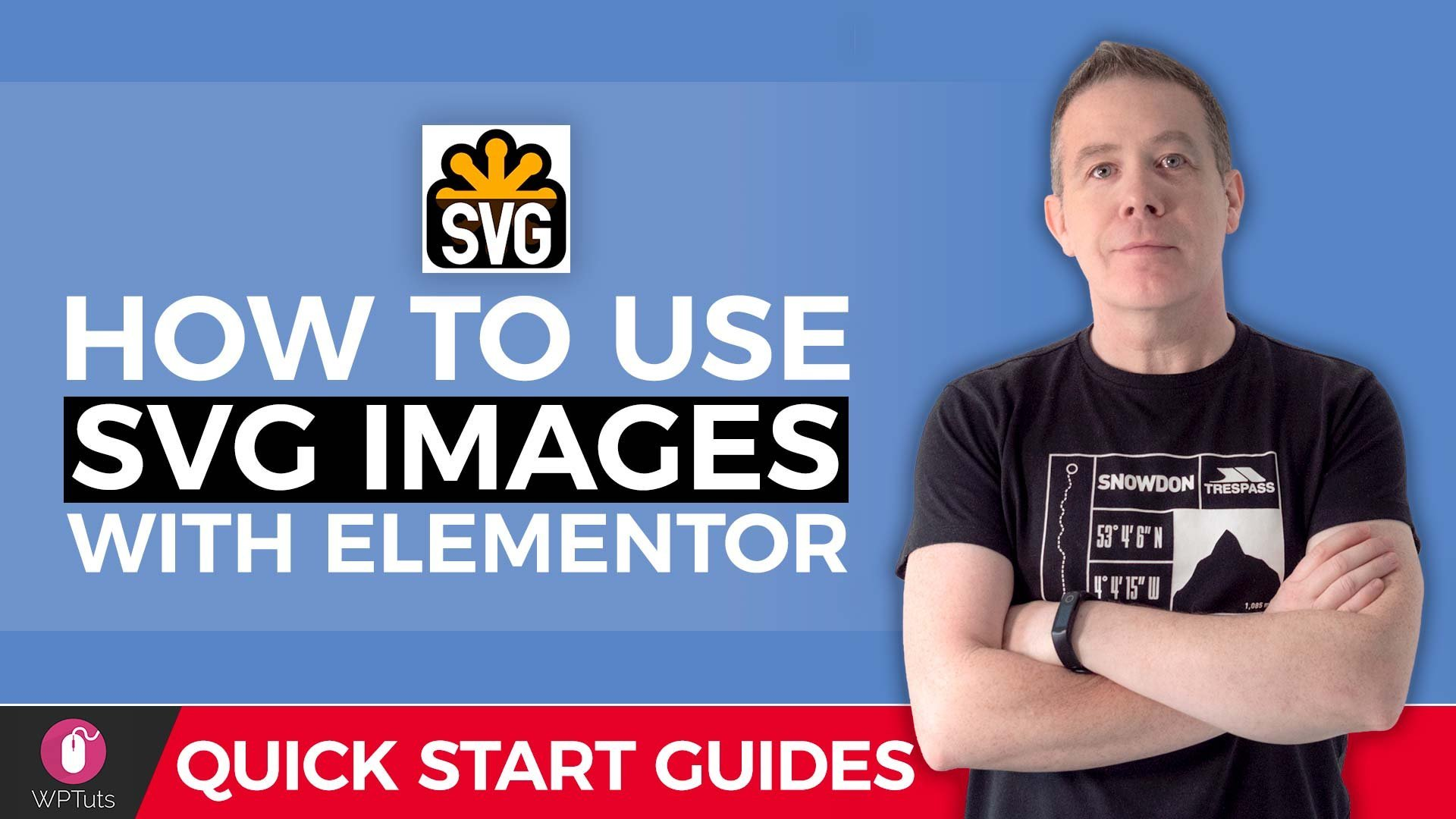 How to use SVG images with WordPress & Elementor