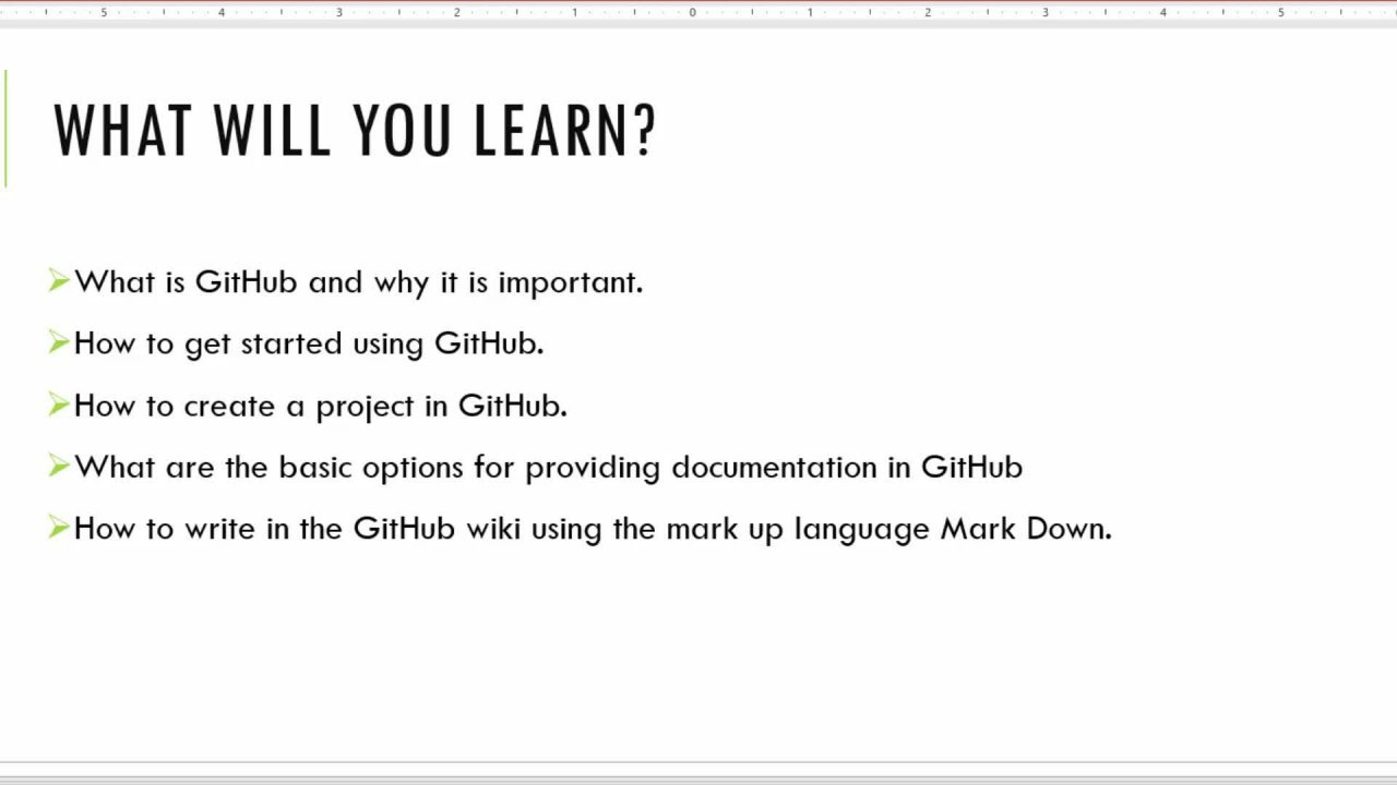 Technical Writing: How to Write Documentation in GitHub