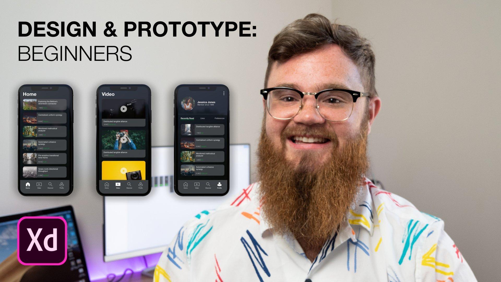 Adobe XD: App Design & Prototyping for Beginners