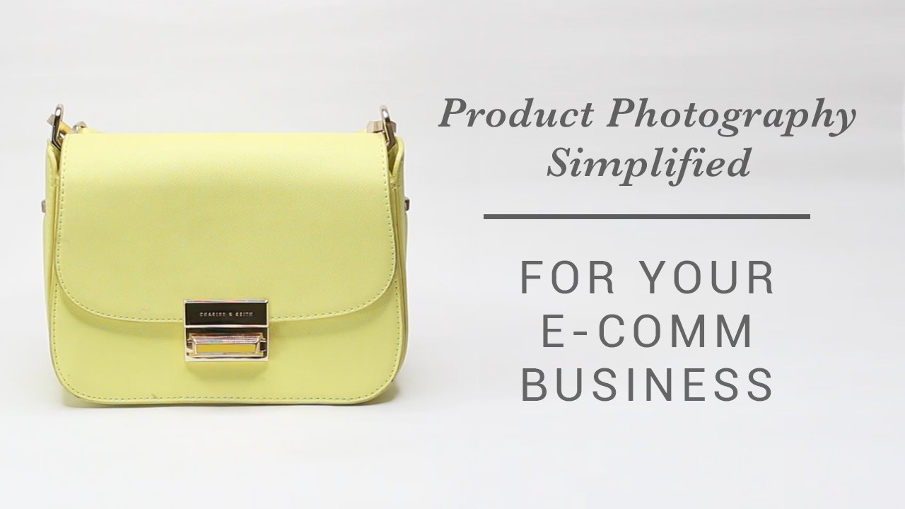 DIY Product Photography, Shooting For Your Online Business