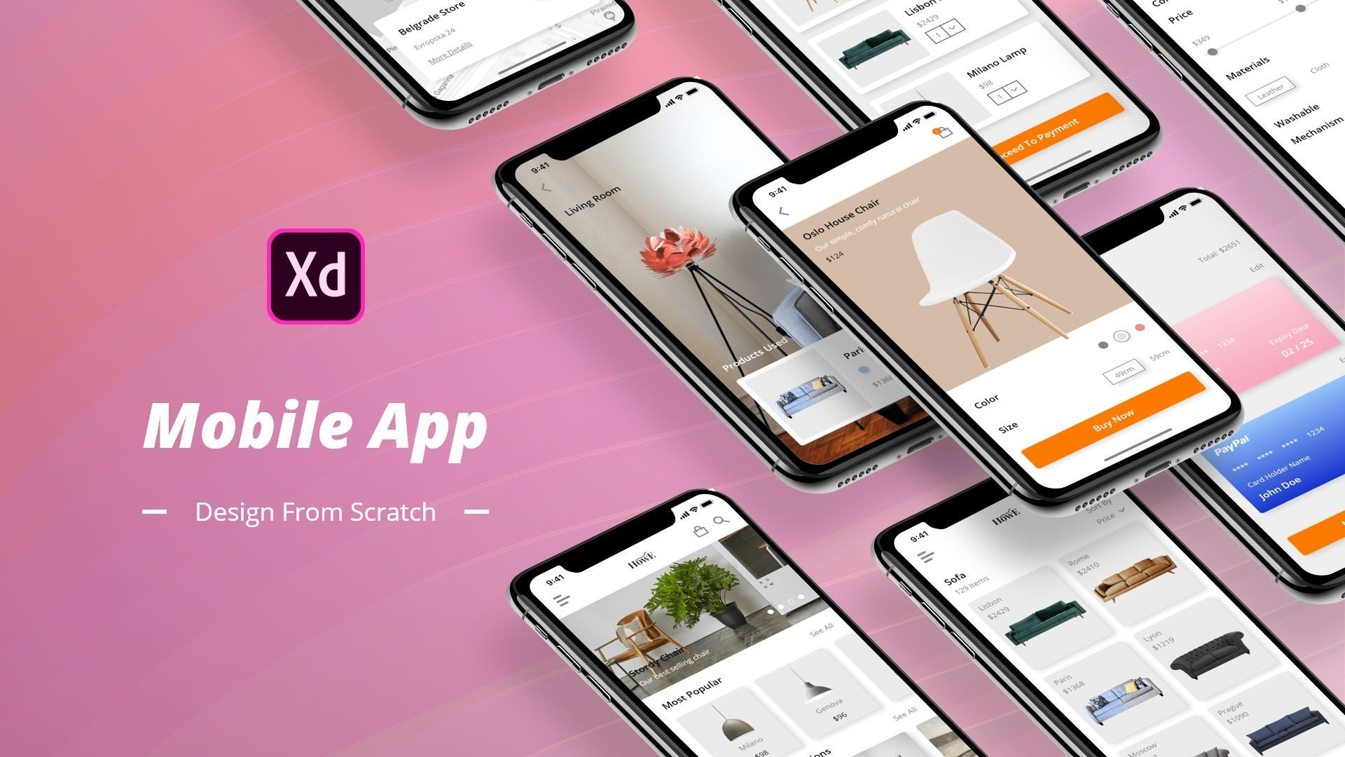 Mobile App Design From Scratch In Adobe Xd