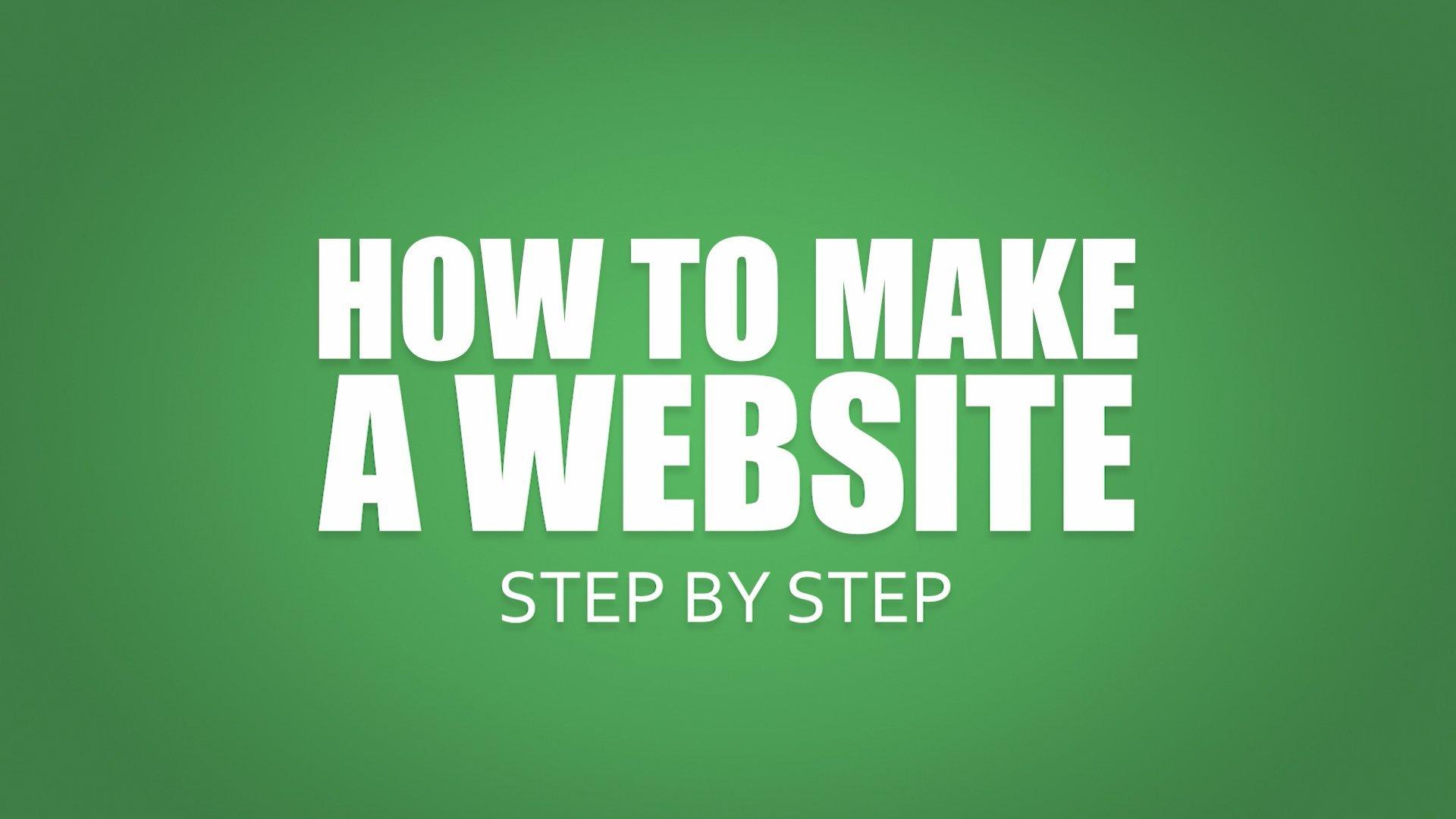 Make An Awesome WordPress Website Step By Step (2020)