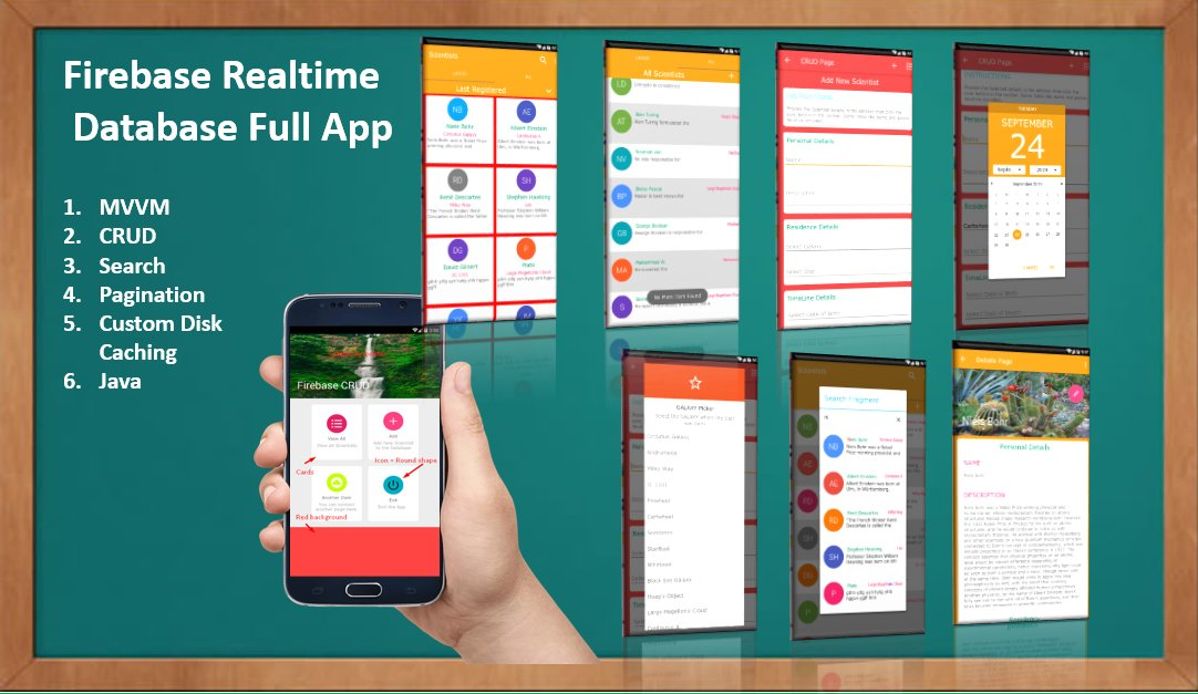 Android MVVM Firebase Full App Live Coding