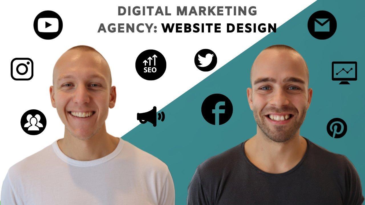 Build Your Digital Marketing Agency Website | Social Media Marketing Business