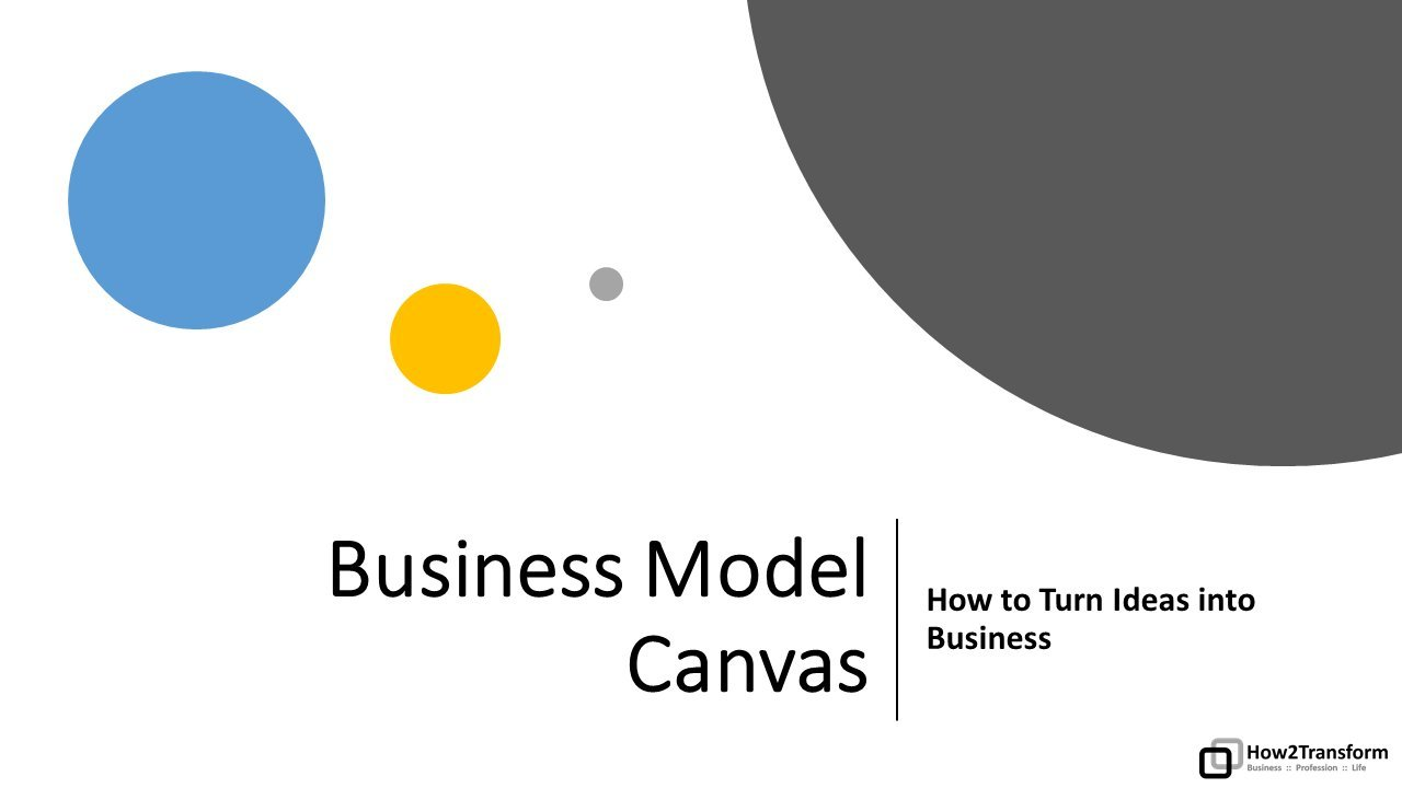 Business Model Canvas: How to Turn Ideas into Business
