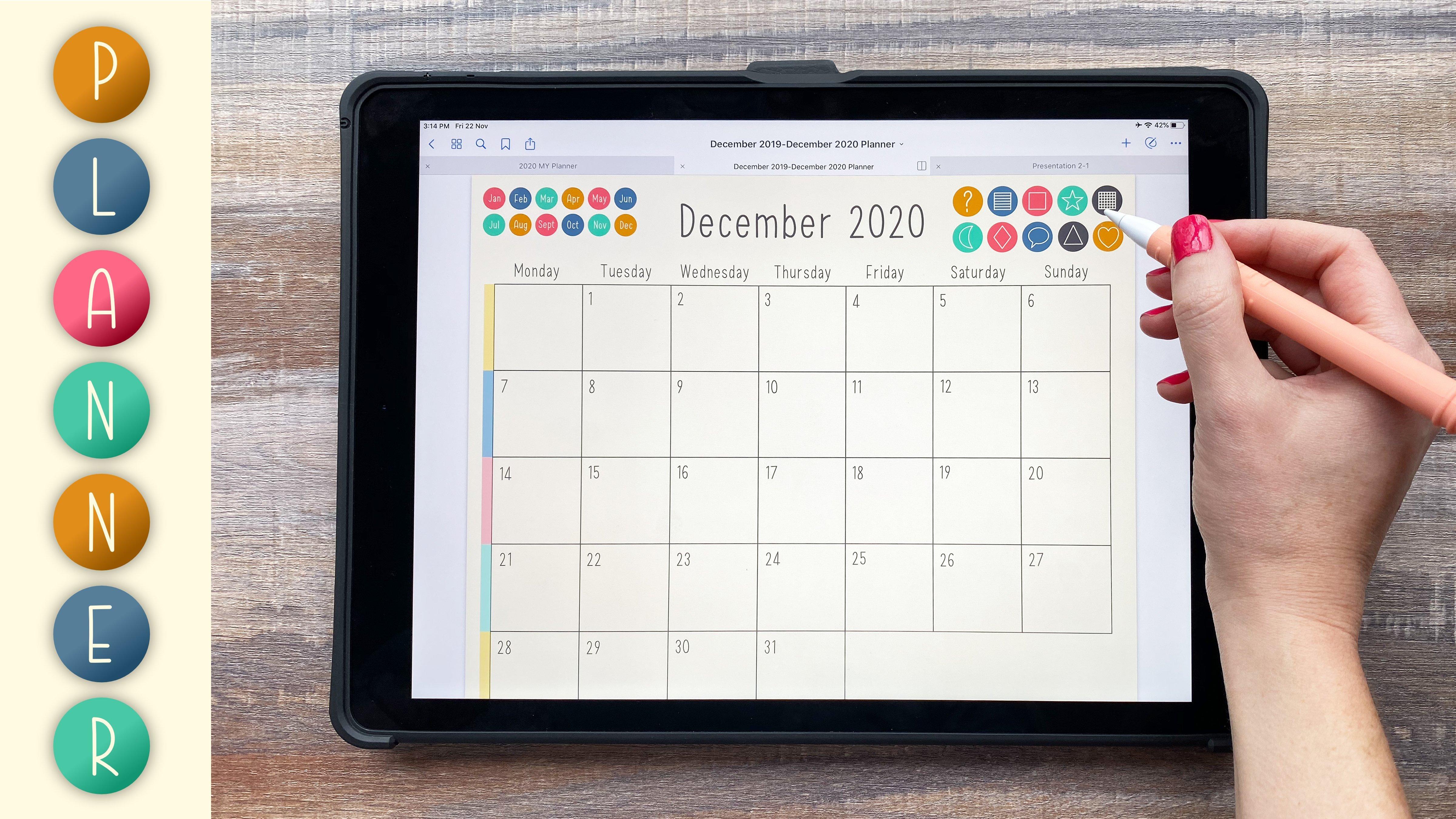 Design a Digital Planner with Vectors in Affinity Designer