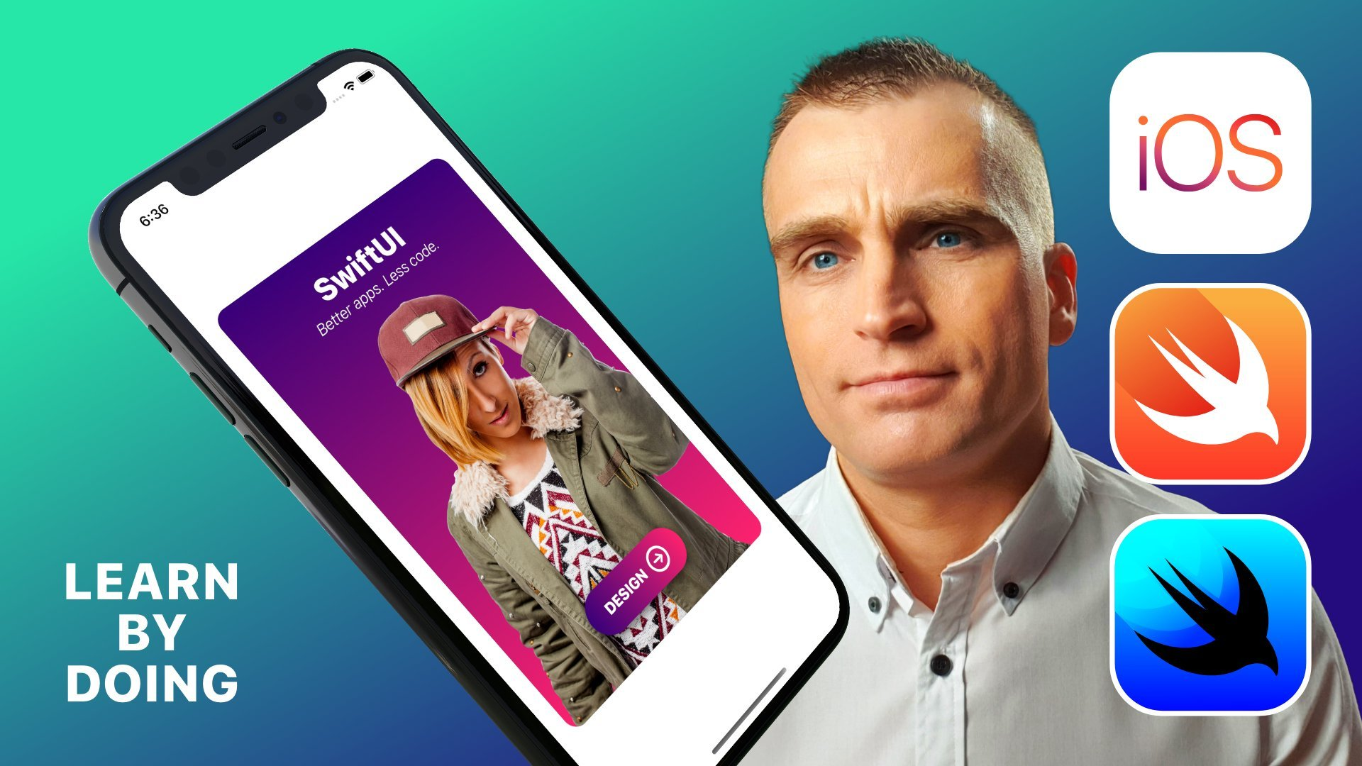 SwiftUI Basics: Let's create an awesome iOS card app UI/UX design with SwiftUI in Xcode