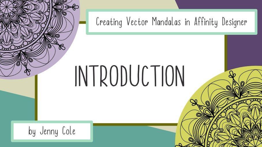 Creating Vector Mandalas in Affinity Designer