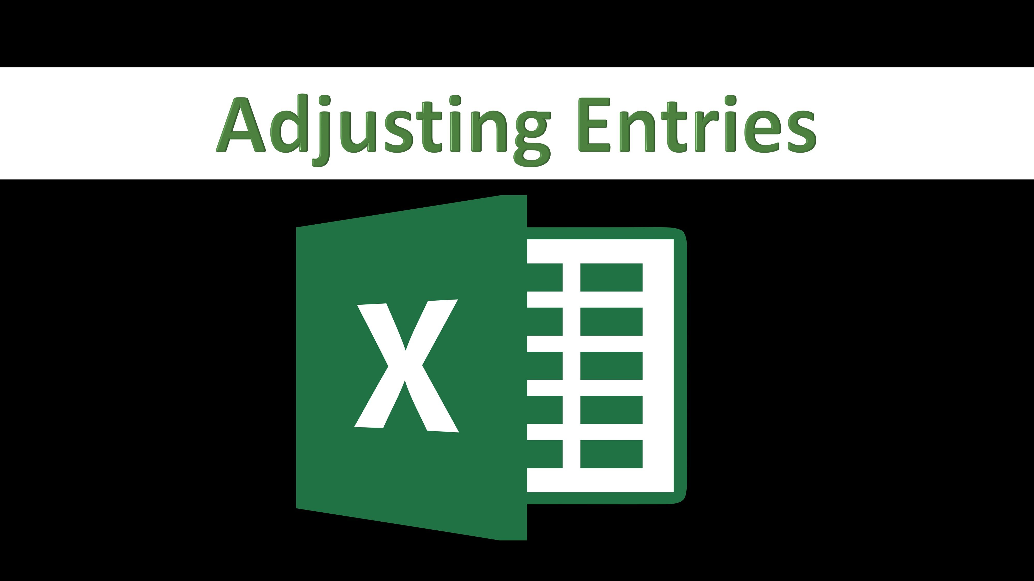 Adjusting Entries - Financial Accounting