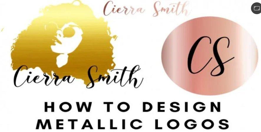 How to Design Metallic Logos in 5 minutes | Rose Gold, Gold, Silver SVG Files in Adobe Illustrator