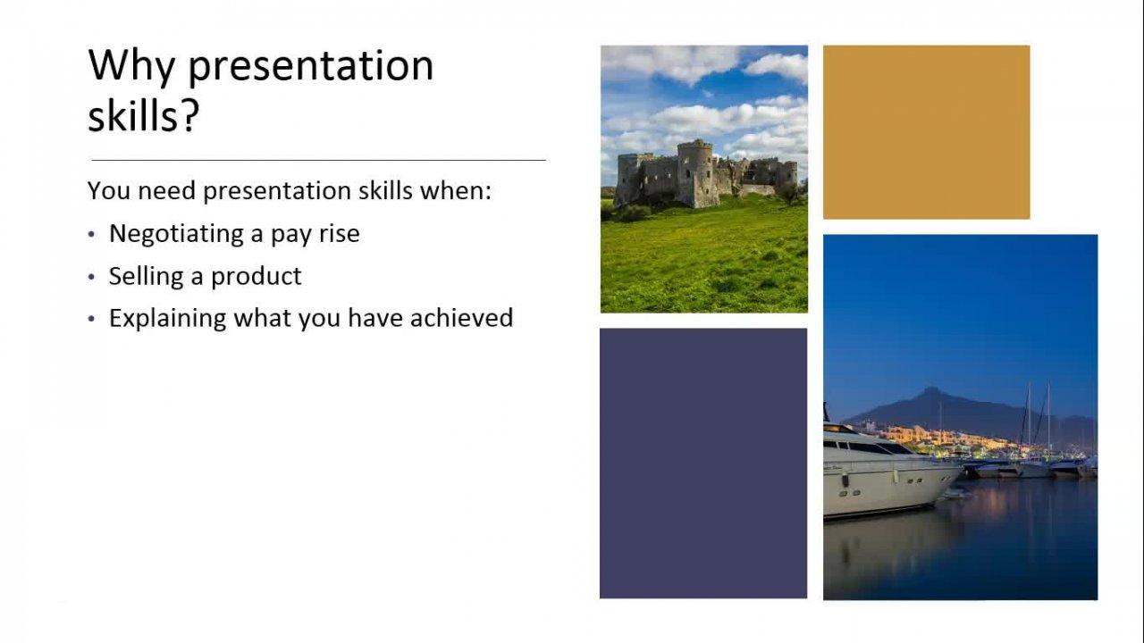 Presentation Skills for Life and Work