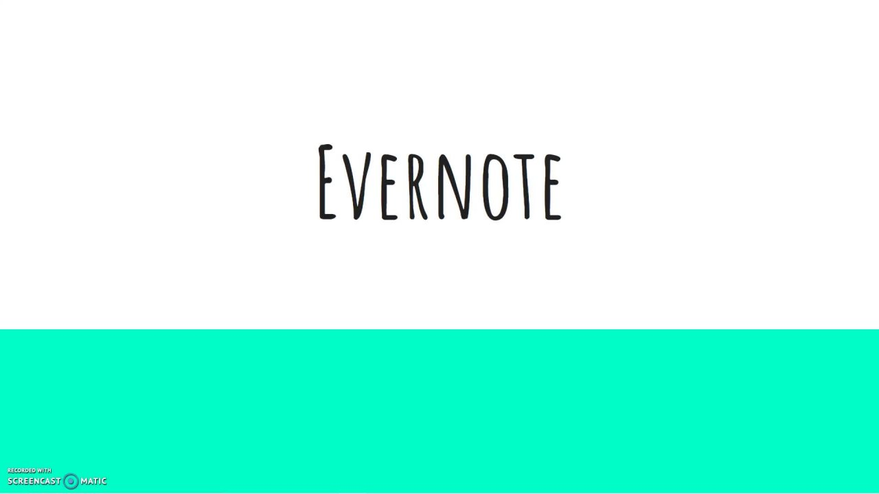 How to Use Evernote for Productivity