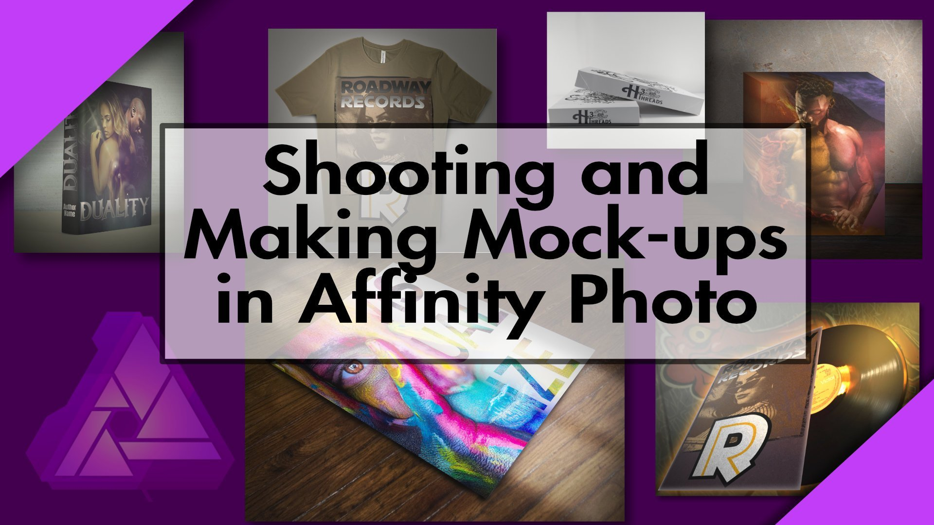 Shooting and editing mock ups in Affinity Photo