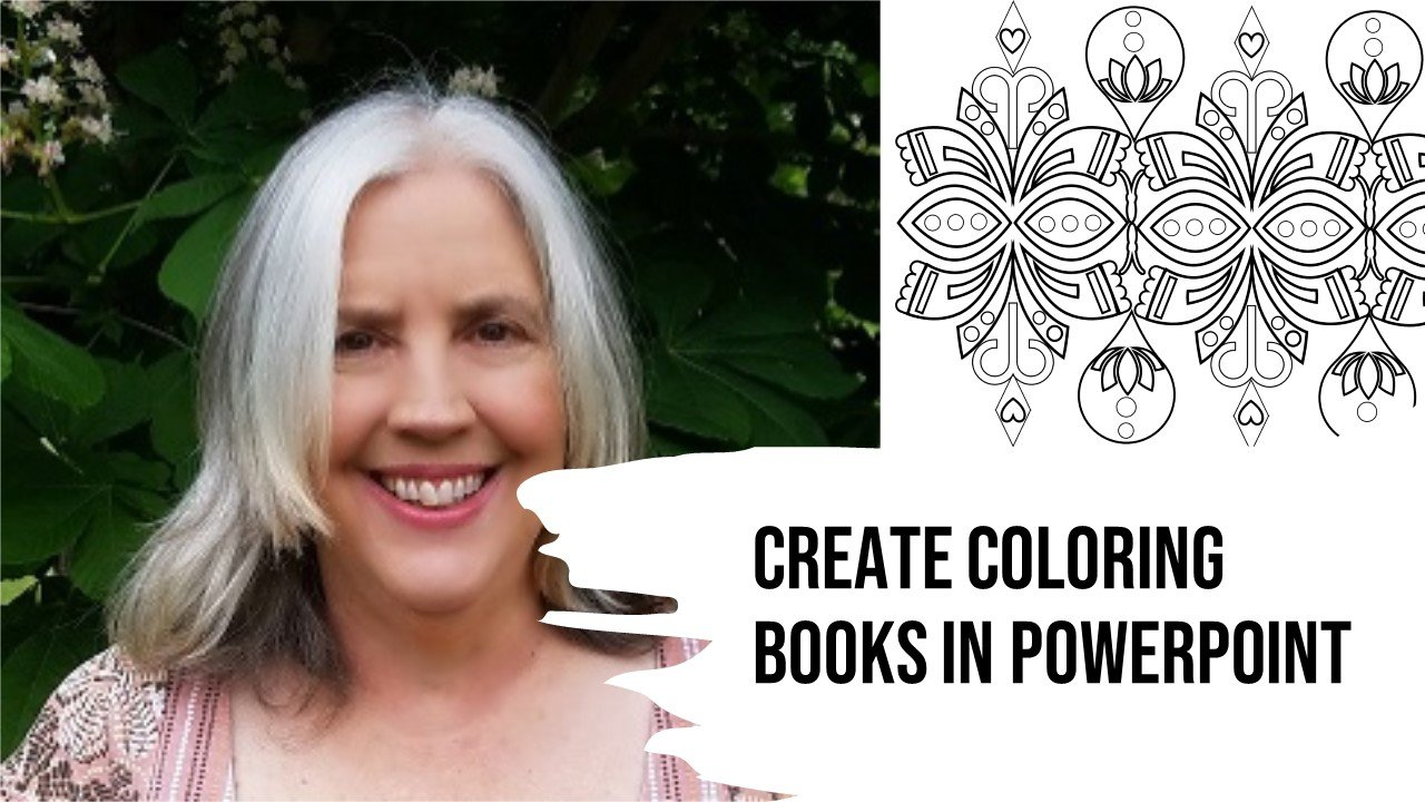 Create Coloring Books in PowerPoint | How to Design Coloring Pages in PowerPoint