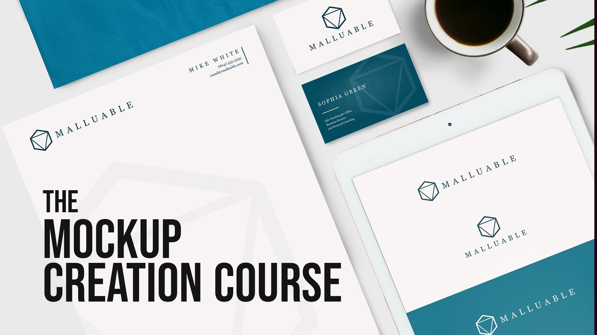The Mockup Creation Course for Adobe Photoshop and Affinity Photo