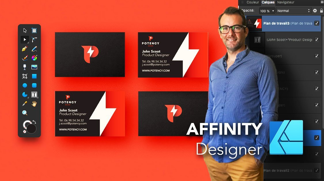 AFFINITY Designer   Initiation - Outils + Ateliers Créatifs