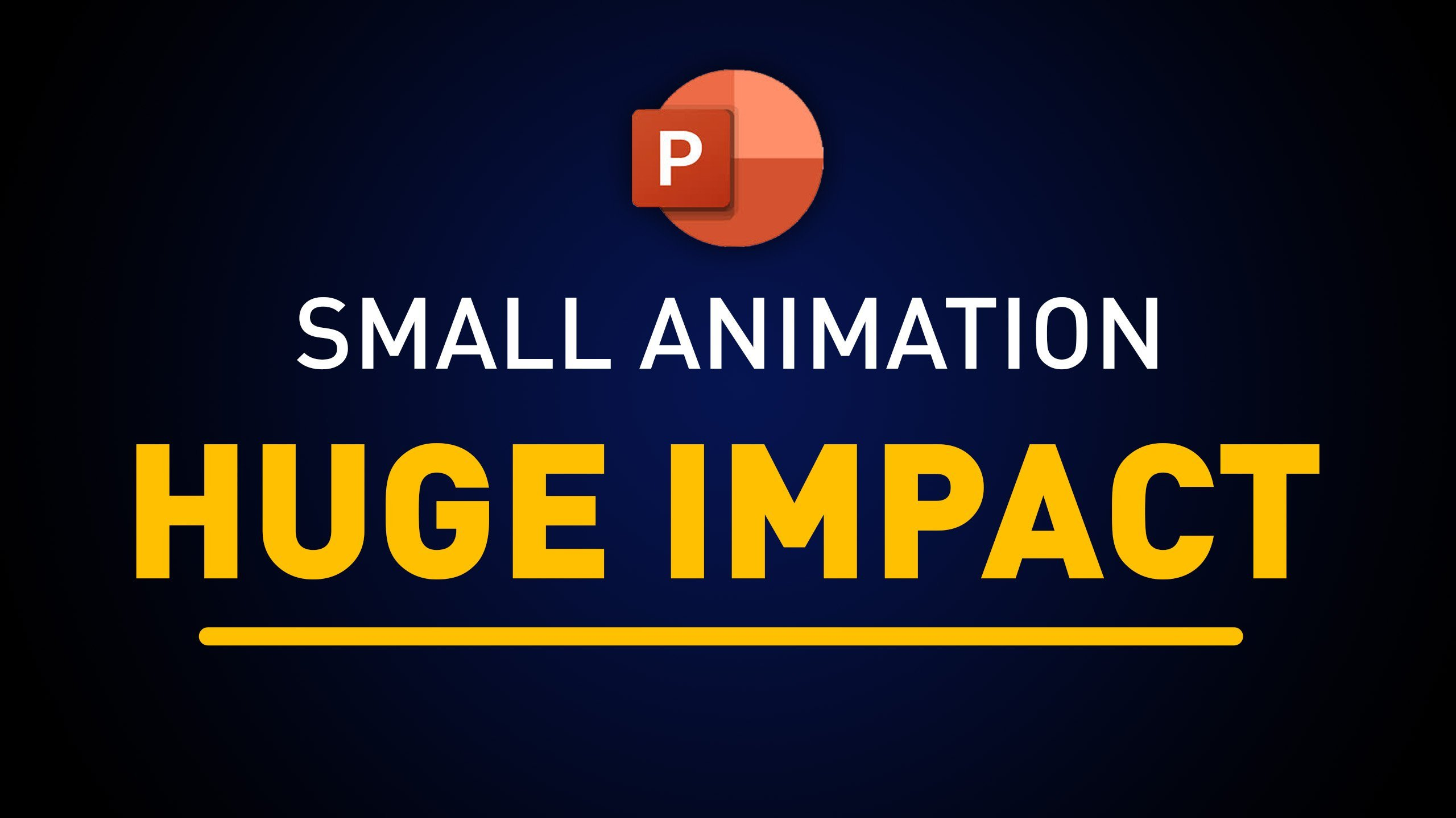 10 Minute Intro Animation in PowerPoint