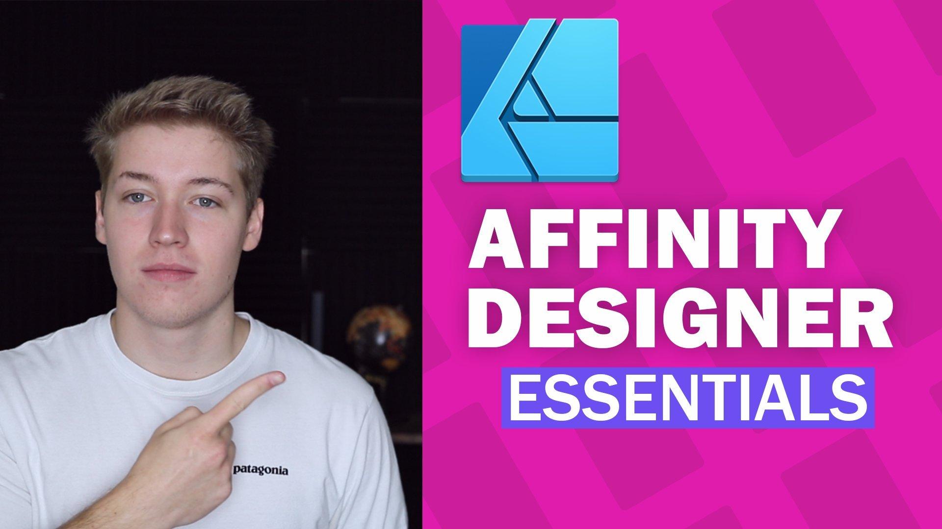 Affinity Designer Essentials: From Beginner to Advanced