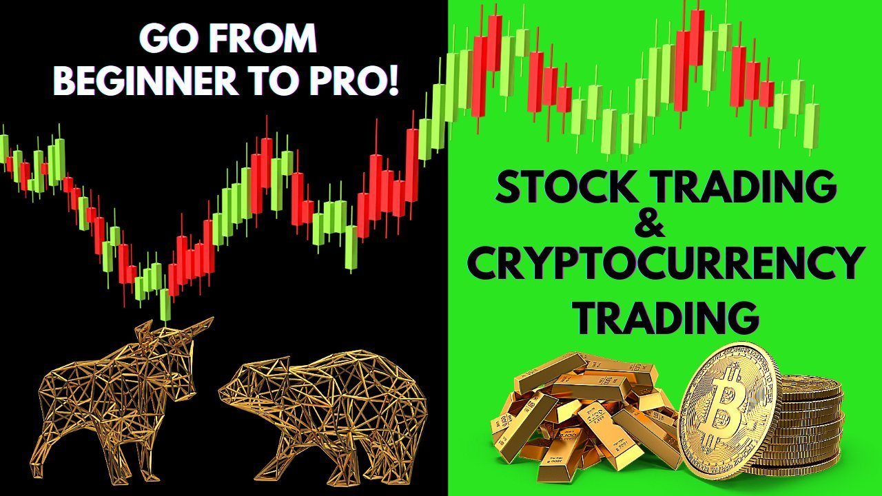Stock Trading & Bitcoin/Cryptocurrency Trading | Technical Analysis: Beginner to Pro