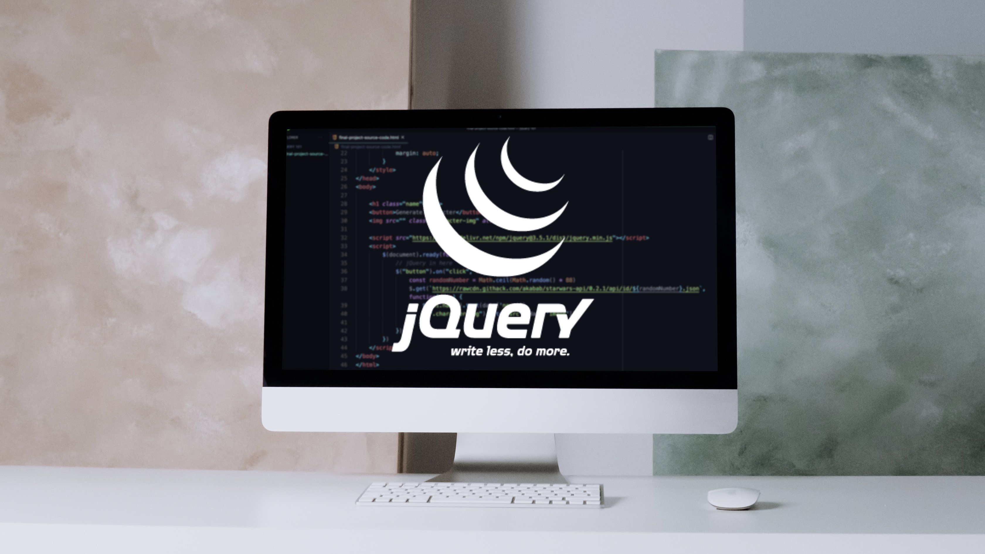 jQuery 101: Learn jQuery (with JavaScript) from scratch