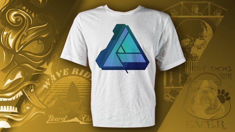 T shirt Design in Affinity Designer for Desktop