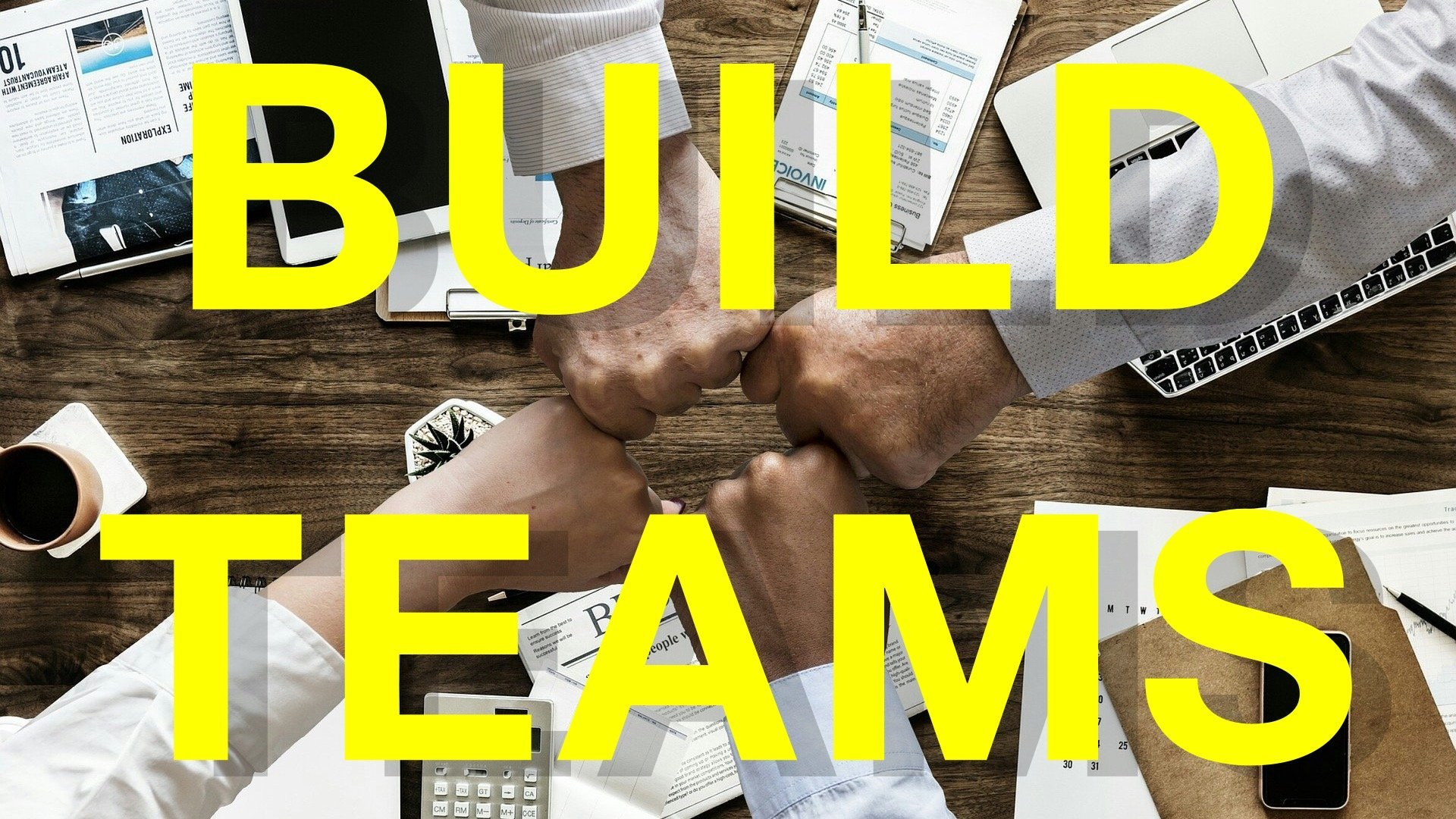 How to Build Teams: 7 Easy Steps to Master Team Building, Employee Engagement, Teamwork & Bonding