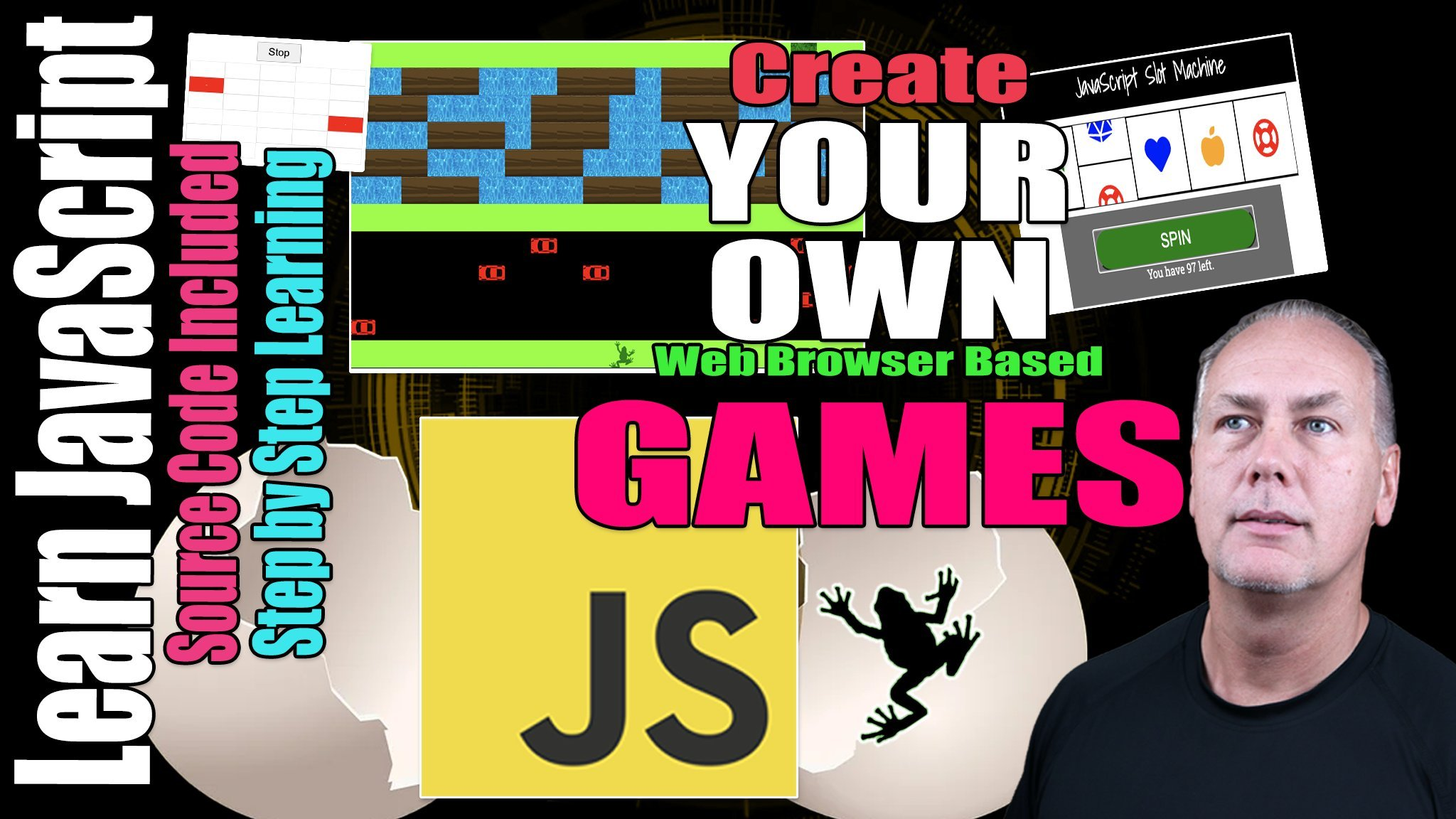 Games with JavaScript DOM Projects InterActive Dynamic WebPages JS DOM