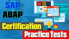 SAP Abap (C_TAW12_750) Certification Practice Tests/MCQ
